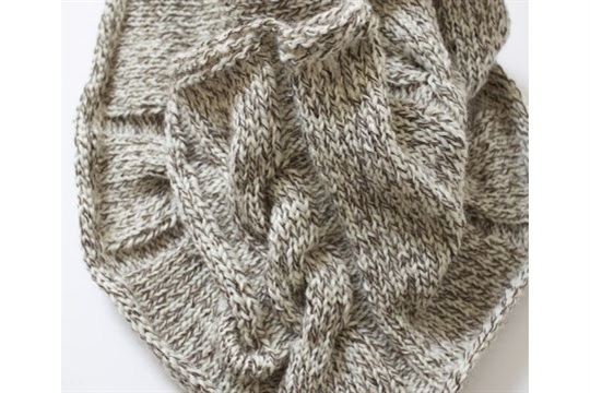 Cabled Cowl Knitting Pattern : Cabled Cowl [Knitting Pattern] - CraftSmile