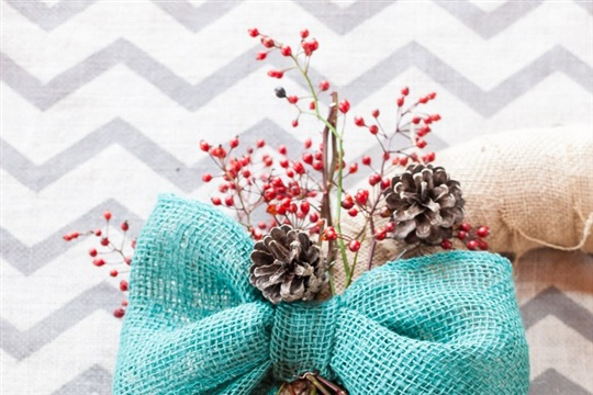 Rustic Natural Element Christmas Wreath