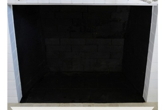 How To Paint A Fireplace Firebox