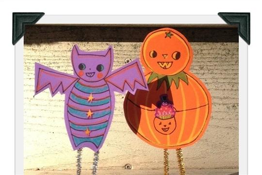 Folk Art Halloween Friends Tutorial