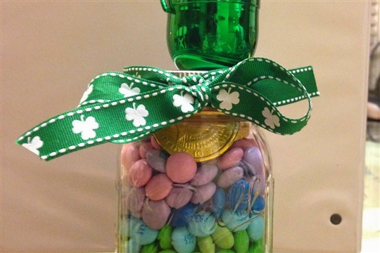 Quick Easy Jar Craft (and Treat) For Any Occasion