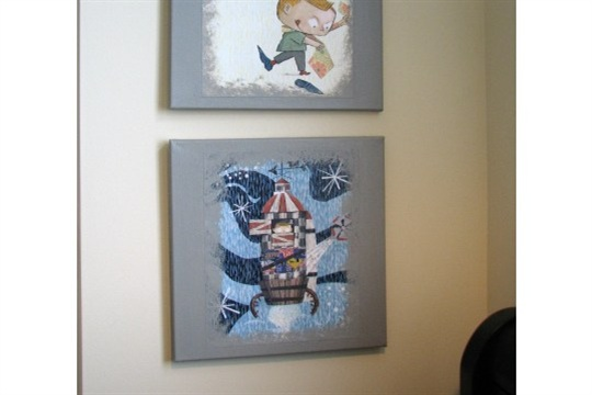 DIY Storybook Canvas Art