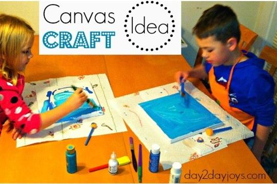 Canvas Craft Idea