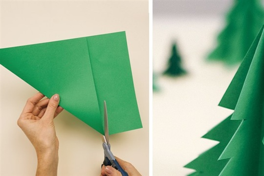 3d Paper Christmas Tree.How To Make 3d Paper Christmas Tree Craftsmile