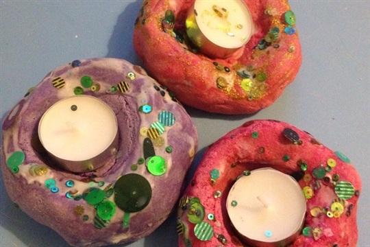 Diwali Candle Holders