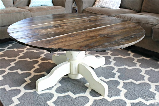 Round Pallet Coffee Table