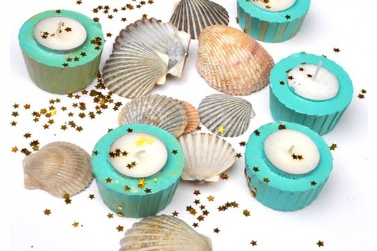 Make your own Votive Candle Holders