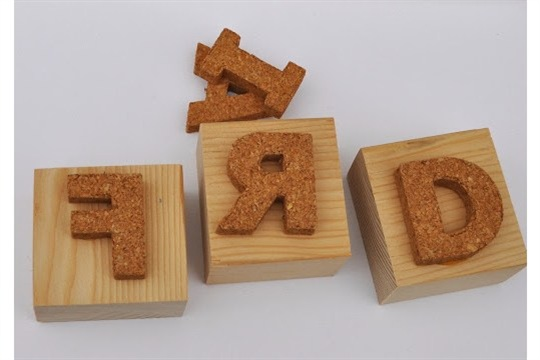 Make Your Own Letter Stamps