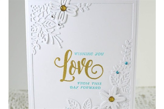 Creatively Reflecting and a Wedding Card