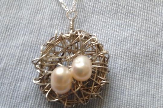 Make it yourself: bird¡¯s nest necklace