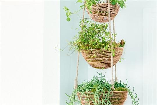 Boho Kitchen Bonanza Part 3 DIY tiered copper planter