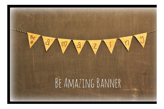 Be Amazing Banner