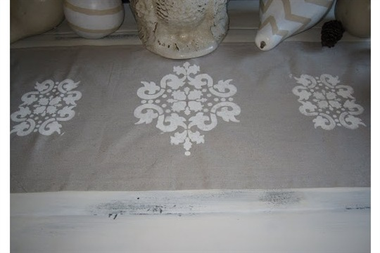 DIY Project 5 Make Your Own Table Runner