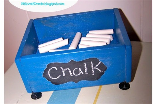 DIY Chalk Box, or box for whatever you want....