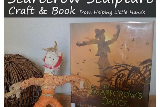 Scarecrow Sculpture Book and Children's Art