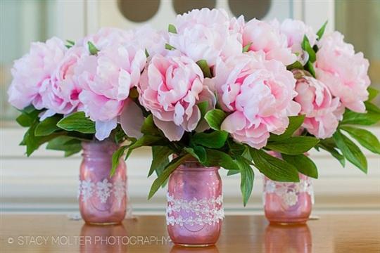 Mother's Day DIY Mason Jar Flower Bouquets &bull