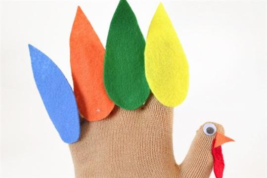 Turkey Glove Puppet Free Pattern