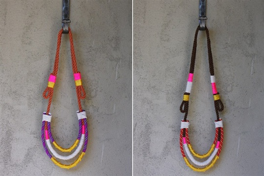 DIY Proenza Schouler Rope Necklace