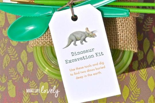 DIY Dinosaur Dig Excavation Kits - CraftSmile