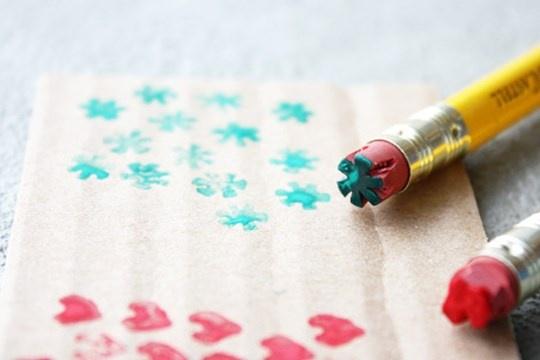 DIY Pencil Stamp