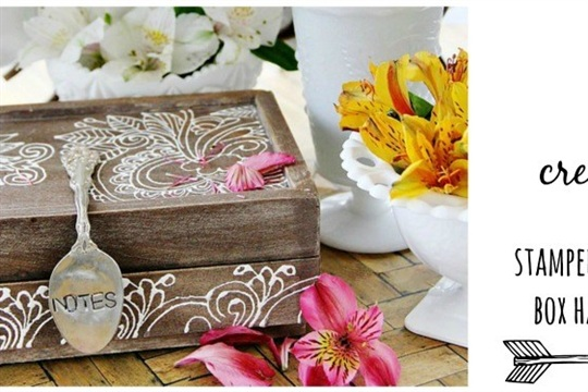 How to stamp silver. Make a fabulous stamped spoon handle!