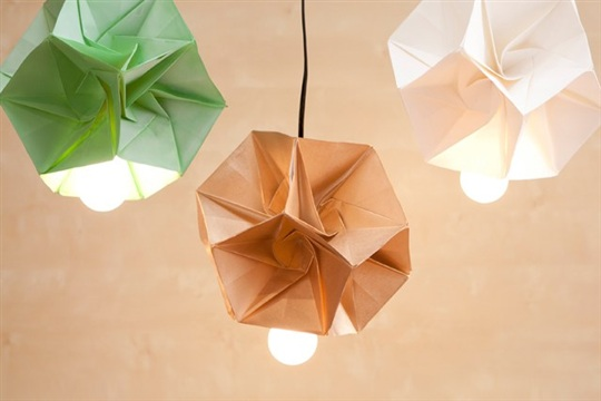 These DIY Origami Lamp Shades Are Our New Obsession