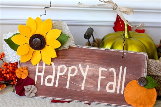 Die Cutting Inspiration Fall Home Decor with eclips