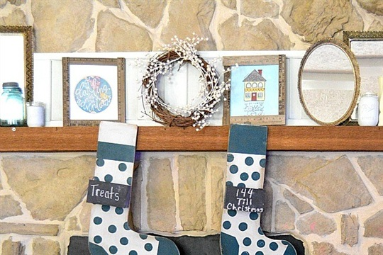 Build Your Own Wooden Stockings