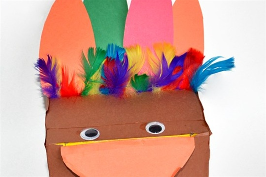 Recycled Craft Make a Box Turkey {+ 6 uses for it!}