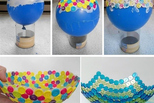 DIY Easy Button Bowl